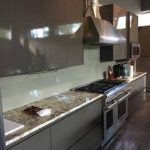 residential glass for kitchen